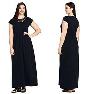 NWOT Lands end maxi dress size 16/18 w